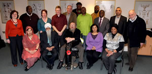 Participants on Neighbourhoods Learning Together Leadership Development Programme, Birmingham 2011